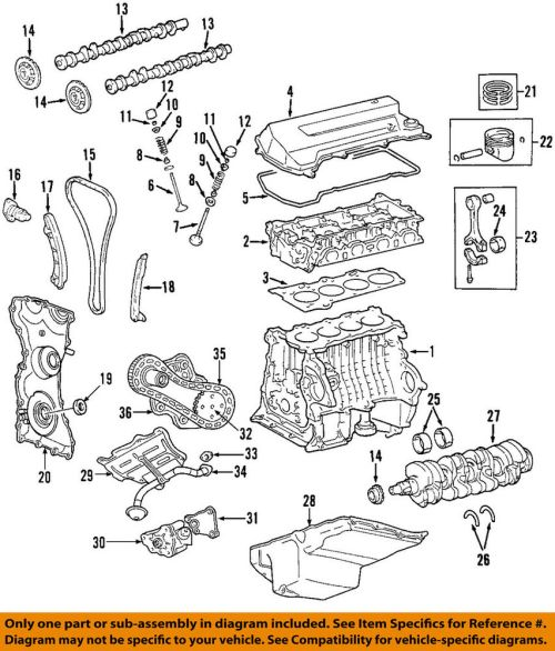 small resolution of ford oem valve cover gasket 1s7z6584ba sold individually overhead valve engine engine valve springs
