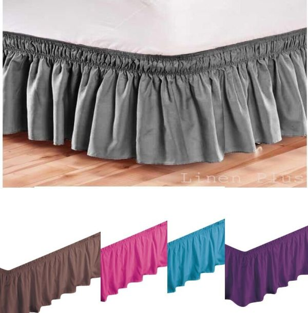 King Size Bed Skirts Dust Ruffles