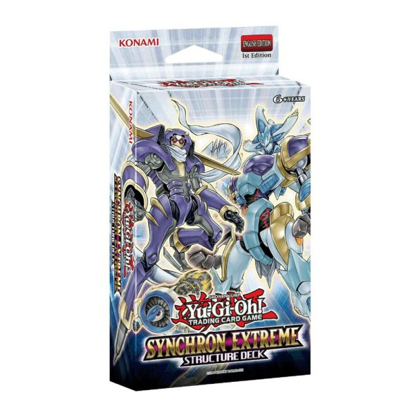 Yu-gi- Cards Synchron Extreme Structure Deck Sdse