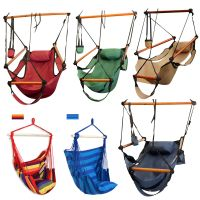 Outdoor Indoor Hammock Hanging Chair Air Deluxe Sky Swing
