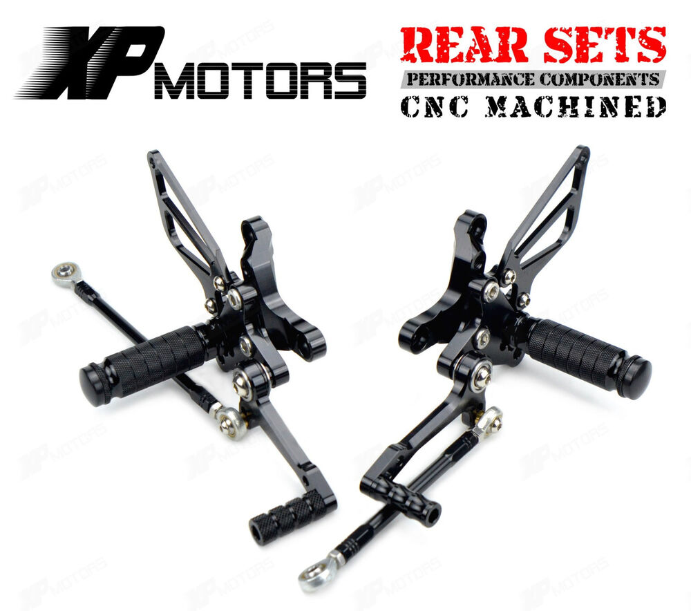 Ducati 848 EVO 1098 1198 RACING Rearsets Rear Sets Foot