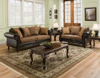 San Marino Traditional Living Room Furniture Set w/ Wood ...