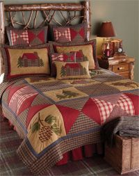 Park Designs Cabin Collection King Quilt Lodge Bedspread ...