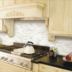 Brick Backsplash In Kitchen Storage Organizers Home Bathroom 3d Wall Decor Stickers ...