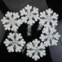16cm Wall Window Decor Christmas 3D Foam Snowflake Hanging