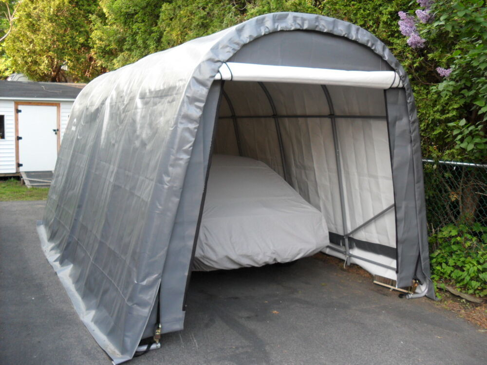 Shelter Logic 10x20x8 Car Truck Boat Cover Portable Garage
