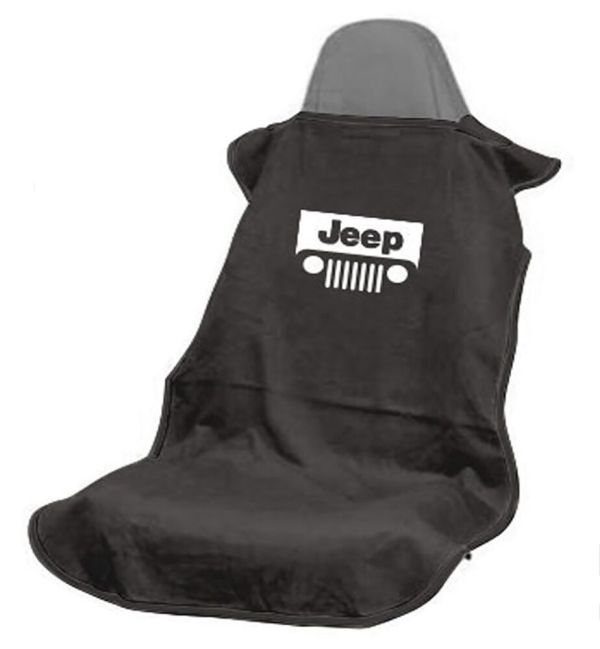 1 Seat Armour Sa100jepgb Black Cover Towel