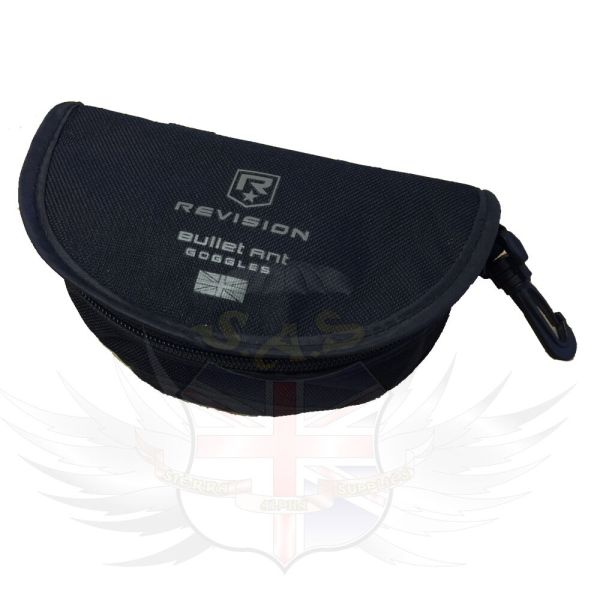 Revision Bullet Ant Goggle System Protective Black Nylon