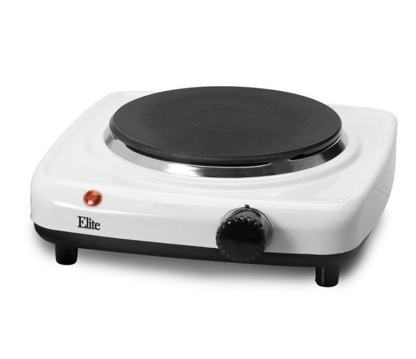 Single Burner Hot Plate Cast Electric Stove Kitchen Iron Portable 1000 Watt 696233339804