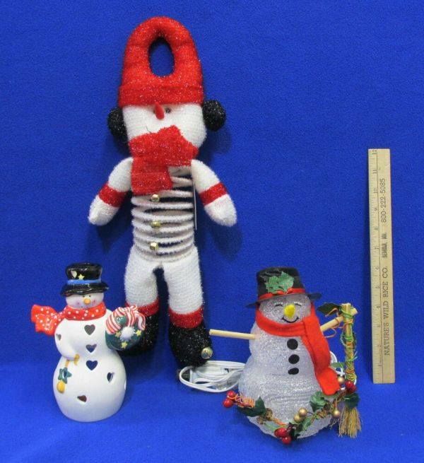 Hallmark Lighted Snowman Year Of Clean Water