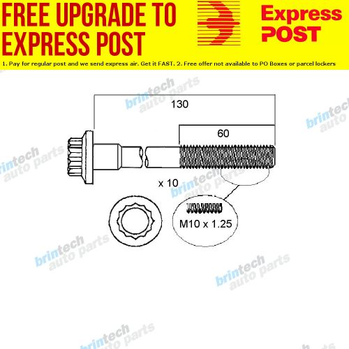 small resolution of details about 2002 2007 for mazda mazda 2 dy10 zy vvt head bolt set
