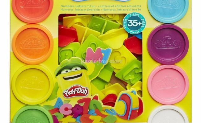 New Play Doh Sets Playdough Numbers Letters N Fun Art Toys