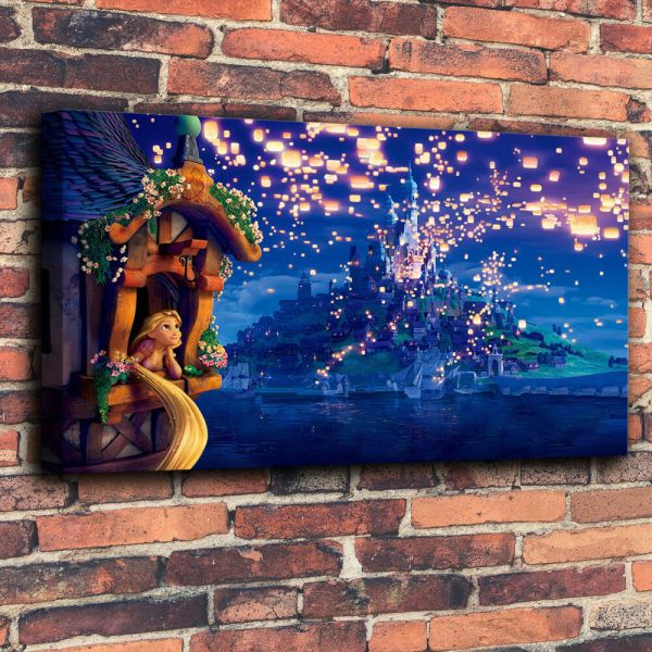Art Print Disney Oil Painting Canvas Home Decor