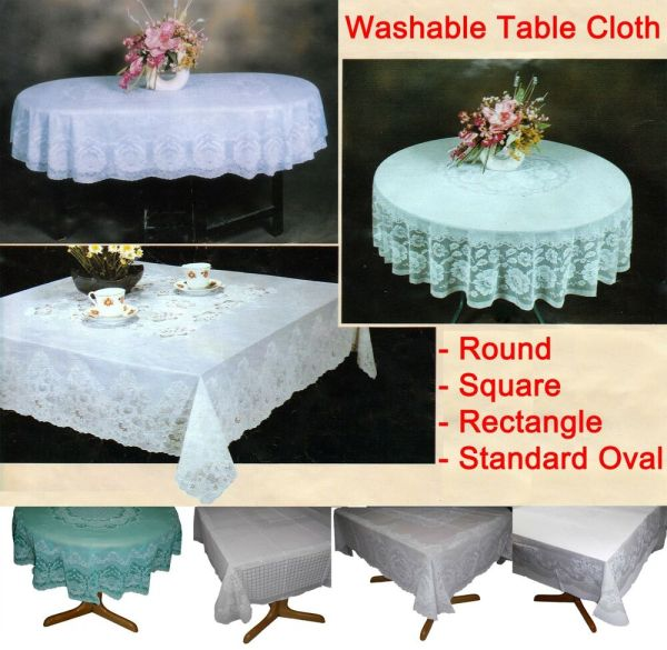 Tablecloths Table Cloth Cover Sheet Square Oblong