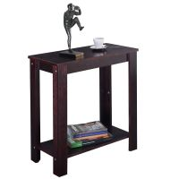 Chair Side Table Coffee Sofa Wooden End Shelf Living Room