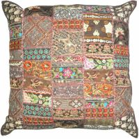 "24x24"" XL Brown Decorative throw Pillows for couch bed ..."