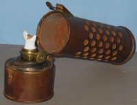 ANTIQUE RARE OIL LANTERN/LAMP/HEATER for CAR ENGINE FROST ...