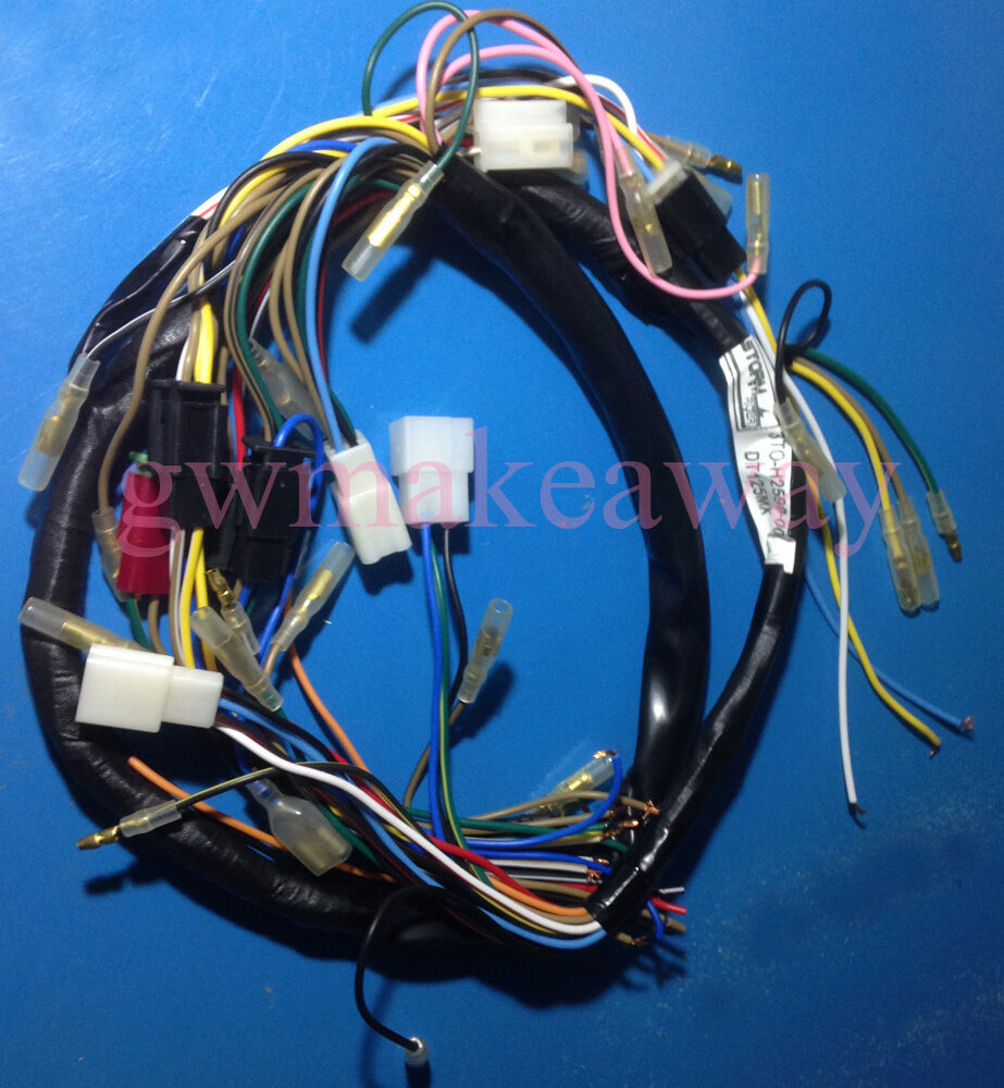 hight resolution of details about yamaha dt125mx dt175 main harness wire wiring new no 3t0 h2590 00