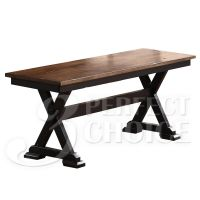 Cambridge Country Dining Bench Wooden Seat Distressed ...