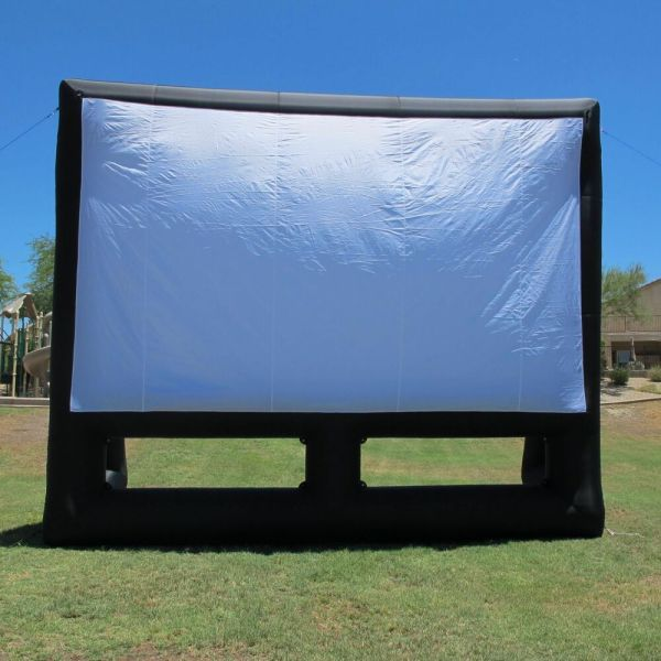 Infl8 Brand 20x12 Foot Inflatable Movie Screen Front & Rear Projection