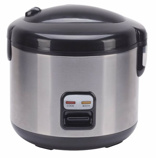 Sunpentown International 6-cups Rice Cooker With Stainless Body Sc-1202ss 876840005303