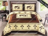 Horse And Western Comforter Sets