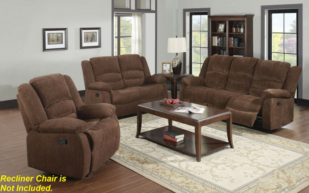 images of living rooms with dark brown sofas room tables modern motion sofa & loveseat 2pc set chenille ...