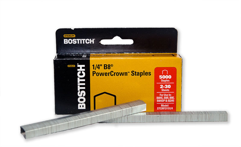 Bostitch B8 Power Crown Staples 14 Box of 5000 Wholesale Pricing  eBay