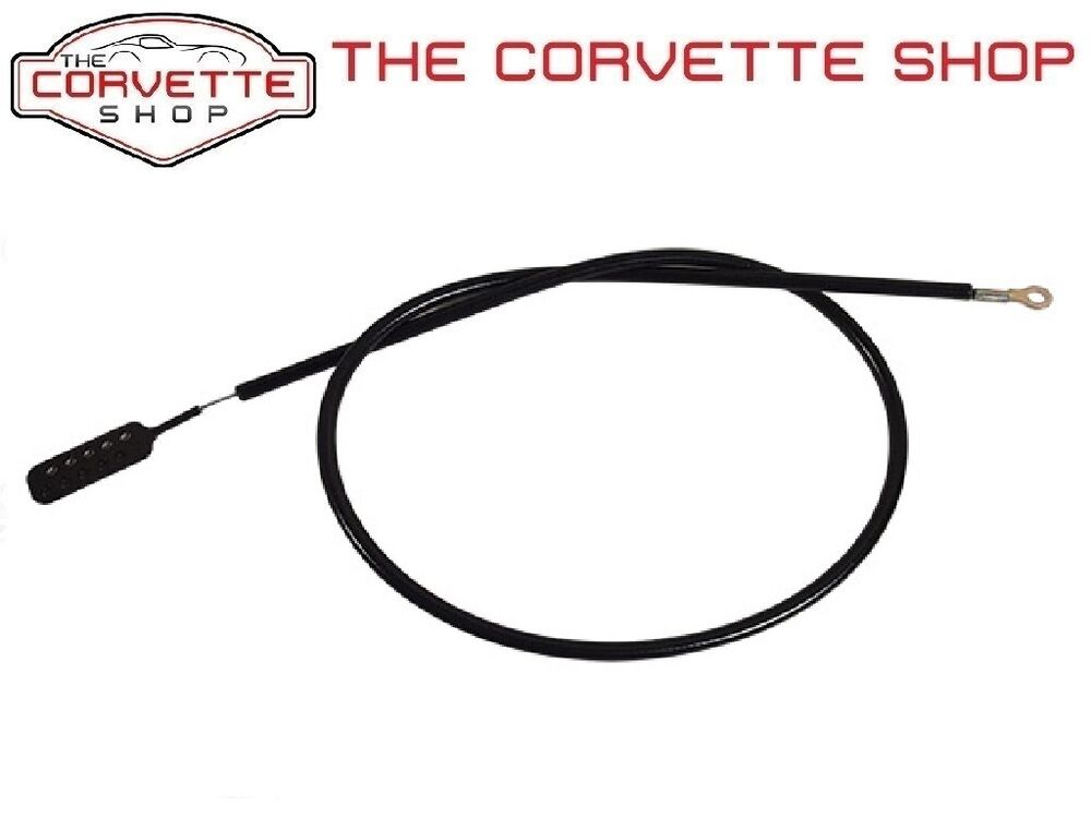 C3 Corvette Hood Release Cable Left to Right 1969L-1976 33