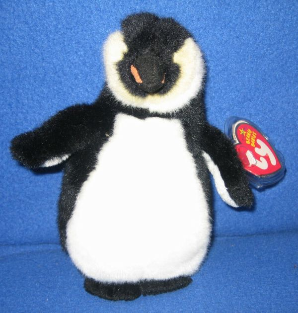 Ty Admiral Penguin Beanie Baby - Mint With Tags