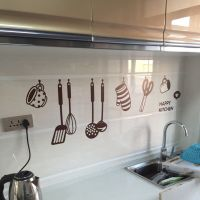 Removable HAPPY KITCHEN PVC Mural Decal Wall Stickers ...