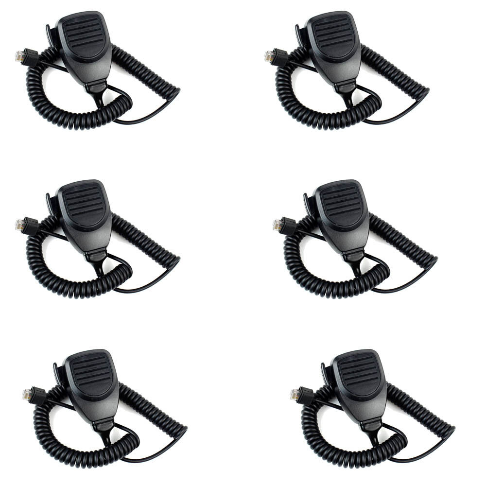 6x 8Pin Mic Microphone for Kenwood KMC-30 TK-760 TK-850 TK