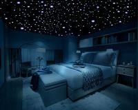 Glow in the Dark Stars, 600 Stars, 3D Self-Adhesive Domed ...