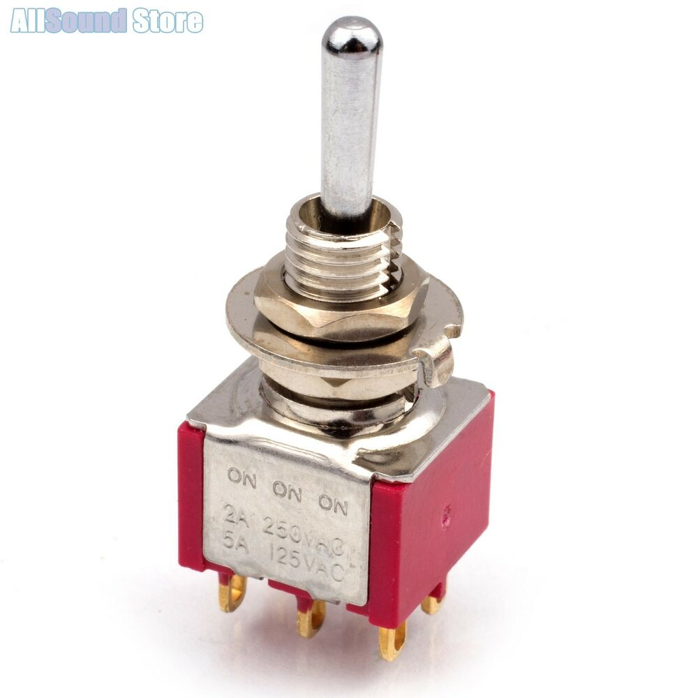 For My Electric Guitar Wiring Diagram New On On On 3 Way Dpdt Mini Toggle Switch Round Bat