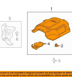 details about gm oem engine appearance cover engine cover 12625893 [ 1000 x 798 Pixel ]