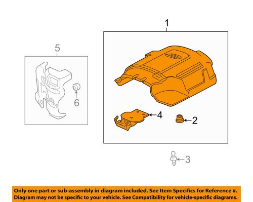 small resolution of details about gm oem engine appearance cover engine cover 12625893