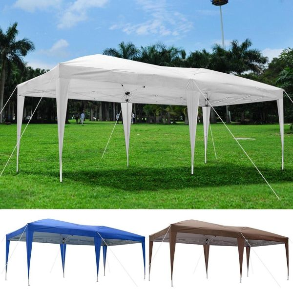 10' X 20' Outdoor Ez Pop Canopy Party Wedding Tent Pavilion Cater Event