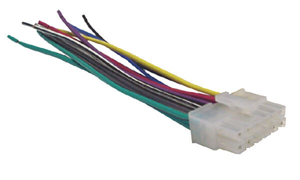Dual Car Audio Wiring Harness Stereo 12 Pin Wire Connector