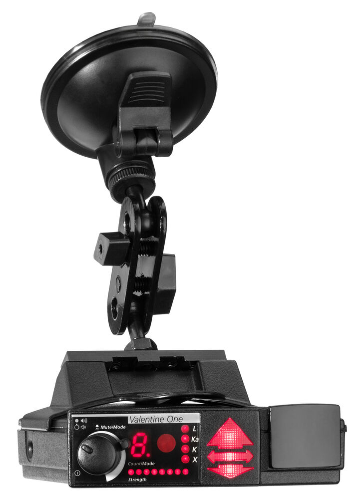 Suction Mount Radar Detector Bracket Valentine V1 Radar