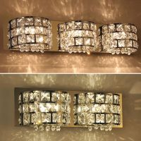 Modern Crystal Mirror Vanity Wall light lamp Bathroom