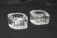MIKASA CRYSTAL VOTIVE CANDLE HOLDERS SET OF 2 | eBay