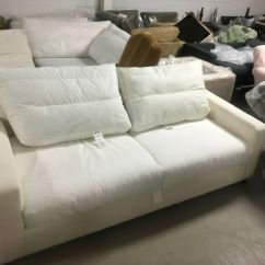 One Arm Sofa Slipcover Country Style Sleeper Pottery Barn Pb Comfort Roll Couch Box Edge ...