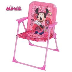 Minnie Mouse Folding Chair Red Parson Chairs Disney Kids Arm Children's Playroom Bedroom Furniture | Ebay