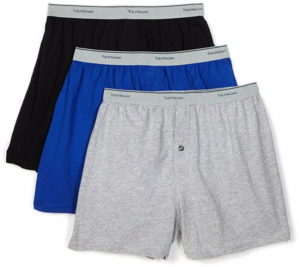 Fruit of the Loom Men's Knit Boxers