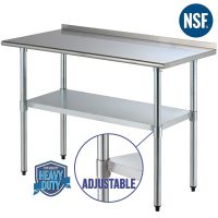 "24"" x 48"" Stainless Steel Work Prep Table Kitchen ..."
