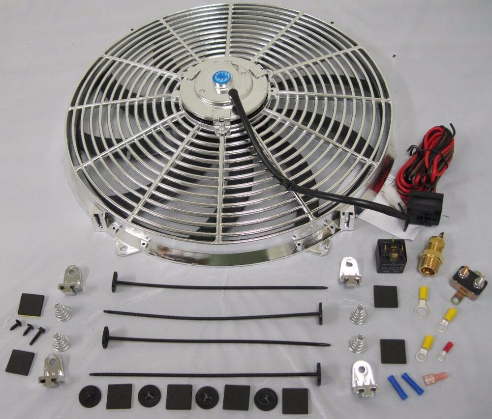 Electric Fan Wiring Diagram As Well As Electric Cooling Fan Wiring
