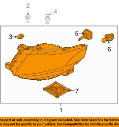 details about lincoln ford oem 10 18 mkt headlight assembly ae9z13008g [ 1000 x 798 Pixel ]