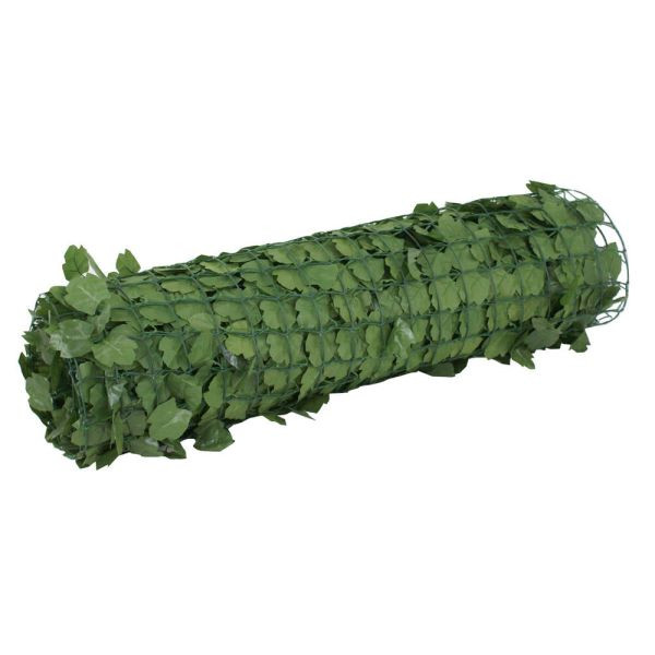 Artificial Faux Ivy Leaf Privacy Fence Screen Panels