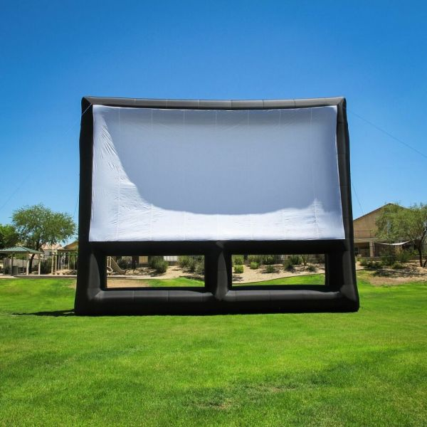 Infl8 Brand 36 X 20 Foot Inflatable Movie Screen Front And Rear Projection