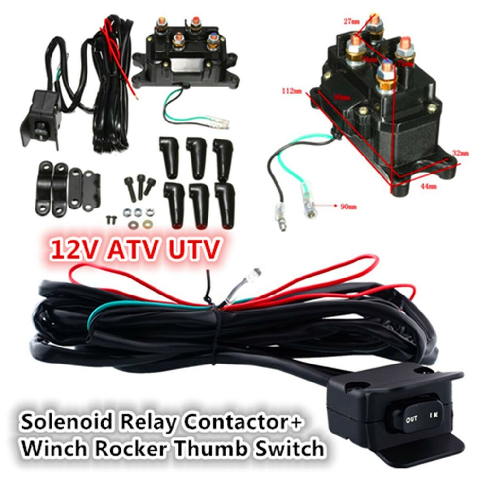 hight resolution of winch thumb switch